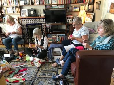 Wolverhampton Amnesty Knitting for Naz
